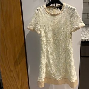 Marc by Marc Jacobs Ivory Lace Dress